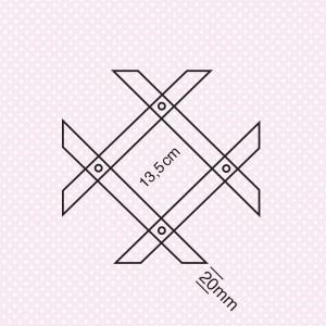 Καφασωτό 8/30 μεταβλητό  Καφασωτά-πλέγματα Λάμπρου Ξύλινα Προφίλ - Εμποτισμένη Ξυλεία